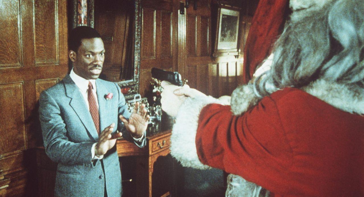 Ohne Rücksicht haben die steinreichen Gebrüder Duke wegen einer Wette den Kleinganoven Billy Ray (Eddie Murphy, l.) zum erfolgreichen Broker und d... - Bildquelle: Paramount Pictures