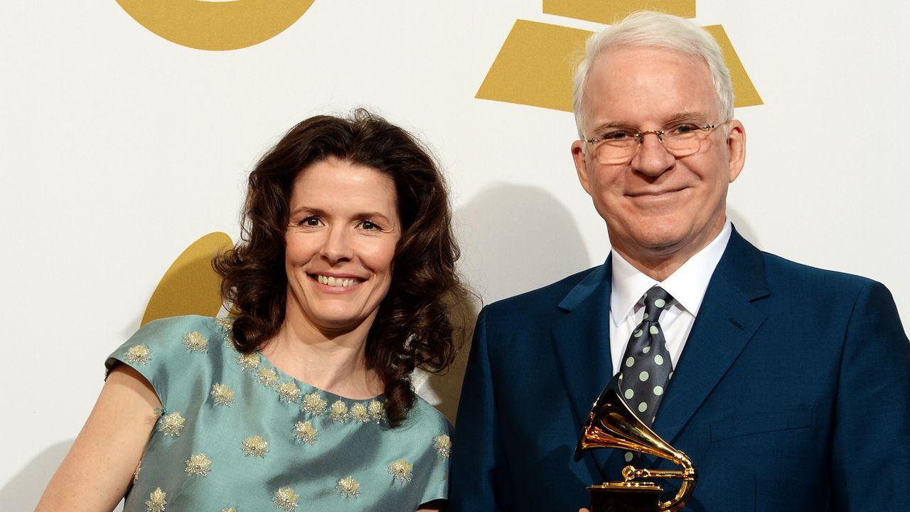 Grammy-Awards-Edie-Brickell-Steve-Martin-14-01-26-AFP - Bildquelle: AFP
