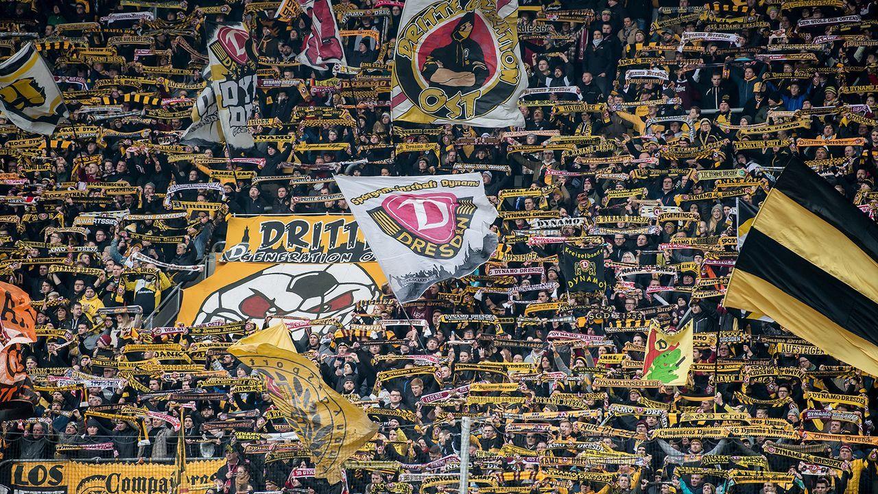 Platz 7: Dynamo Dresden - Bildquelle: 2018 Getty Images