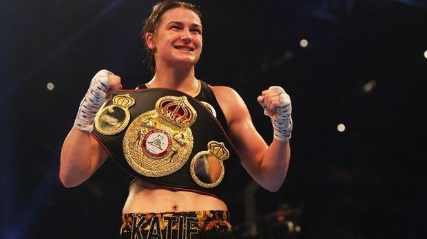 Die Irin Katie Taylor mischt derzeit die internationale Frauenboxszene auf