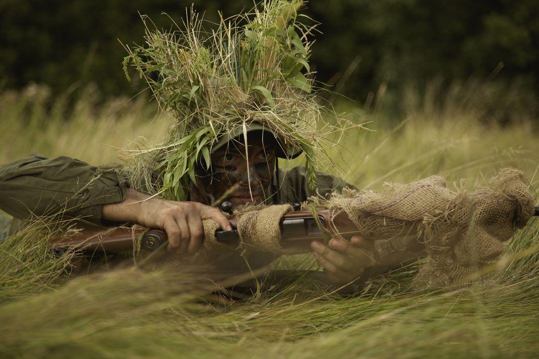 Carlos Hathcock (Patrick McFadden) ist einer der besten Scharfschützen der US Marines. Aus dem Vietnamkrieg ging er als Legende hervor ... - Bildquelle: DHH Productions Inc.