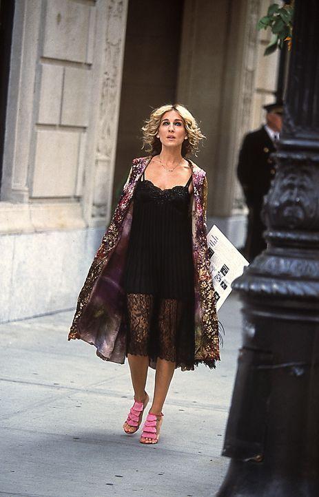 Carrie (Sarah Jessica Parker) kann sich nicht entscheiden, ob sie ein letztes Mal mit Big Sex haben soll und darf ... - Bildquelle: Paramount Pictures