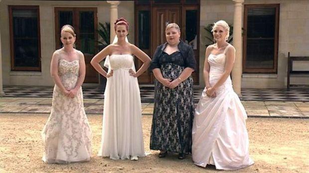 Alle vier Bräute haben ein Ziel, doch ihre Hochzeiten könnten unterschiedlich...