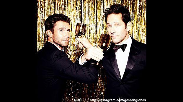 Golden-Globes-adam-levine-Paul-Rudd-Instagram - Bildquelle: http://instagram.com/goldenglobes