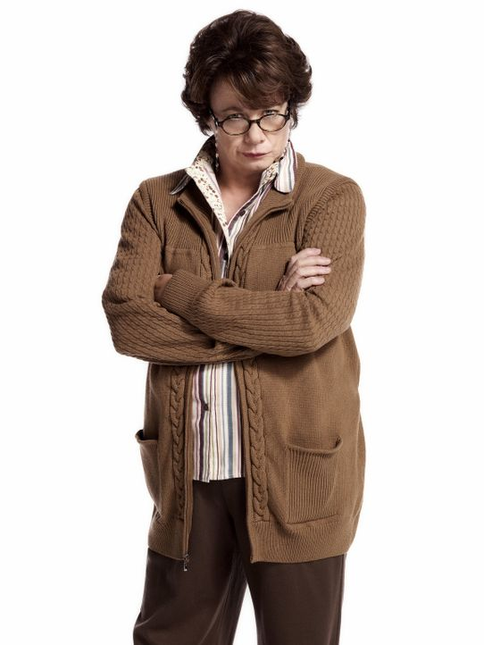 (2. Staffel) - Macht es Molly nicht immer leicht: Mikes Mutter Peggy (Rondi Reed) ... - Bildquelle: Warner Brothers