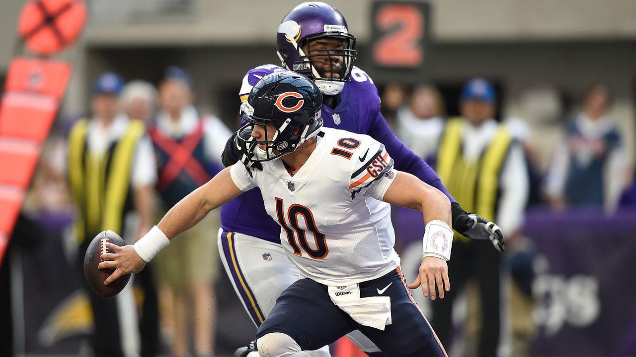 Die Bears sind seit vier Jahren immer Letzter der NFC North - Bildquelle: 2017 Getty Images