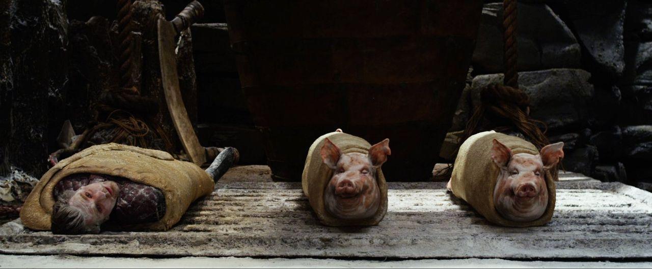 Elmont (Ewan McGregor) ist kurz davor, ein Würstchen im Schlafrock zu werden. Wird Prinzessin Isabelle dasselbe Schicksal drohen? - Bildquelle: Warner Brothers