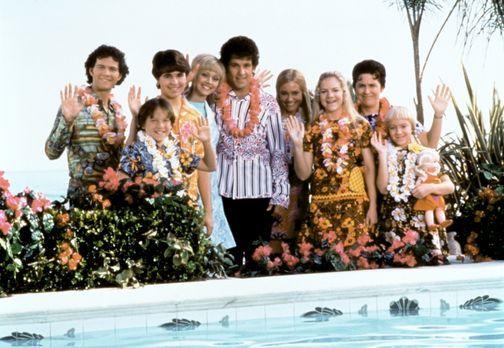 Die Brady Family 2 - Die Bradys: Greg (Christopher Daniel Barnes, l.), Bobby...
