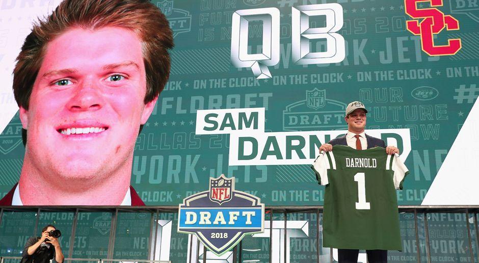 3. Pick - New York Jets: QB Sam Darnold - Bildquelle: getty