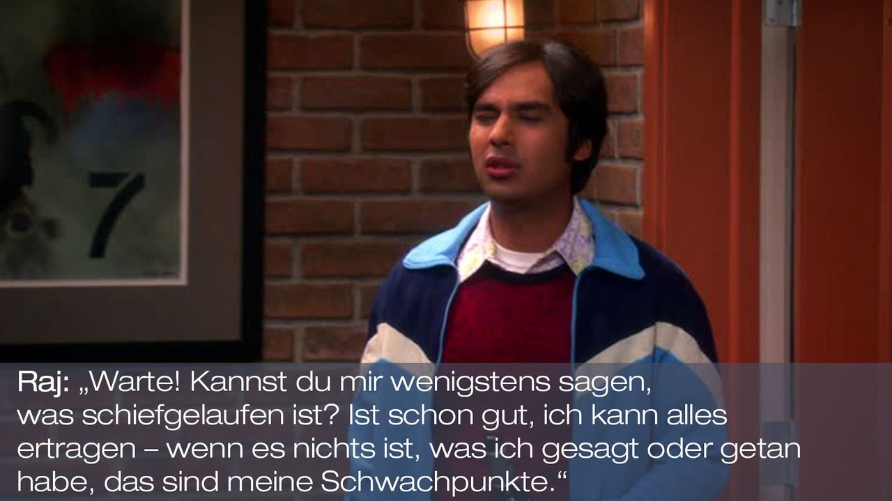Staffel 6 Folge 17 - Zitat 7 - Bildquelle: Warner Bros. Television