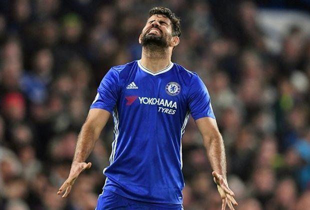Diego Costa muss gegen den Meister zusehen