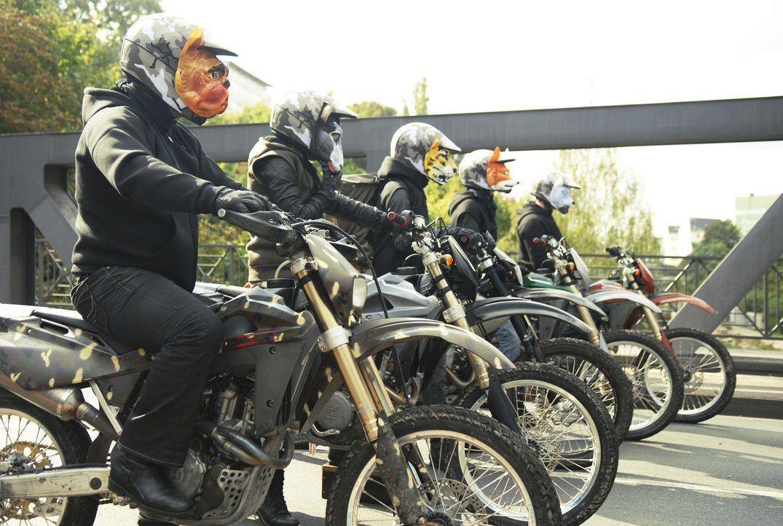 Die berüchtigte Berliner Rocker-Gang Rox ... - Bildquelle: Buena Vista International