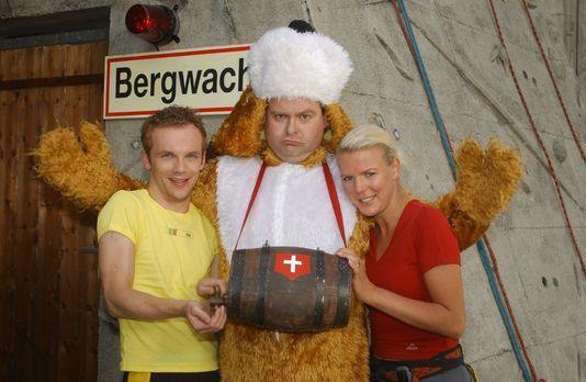 Die dreisten Drei - Die Comedy WG - Ralf (Ralf Schmitz, l.), Markus (Markus M...