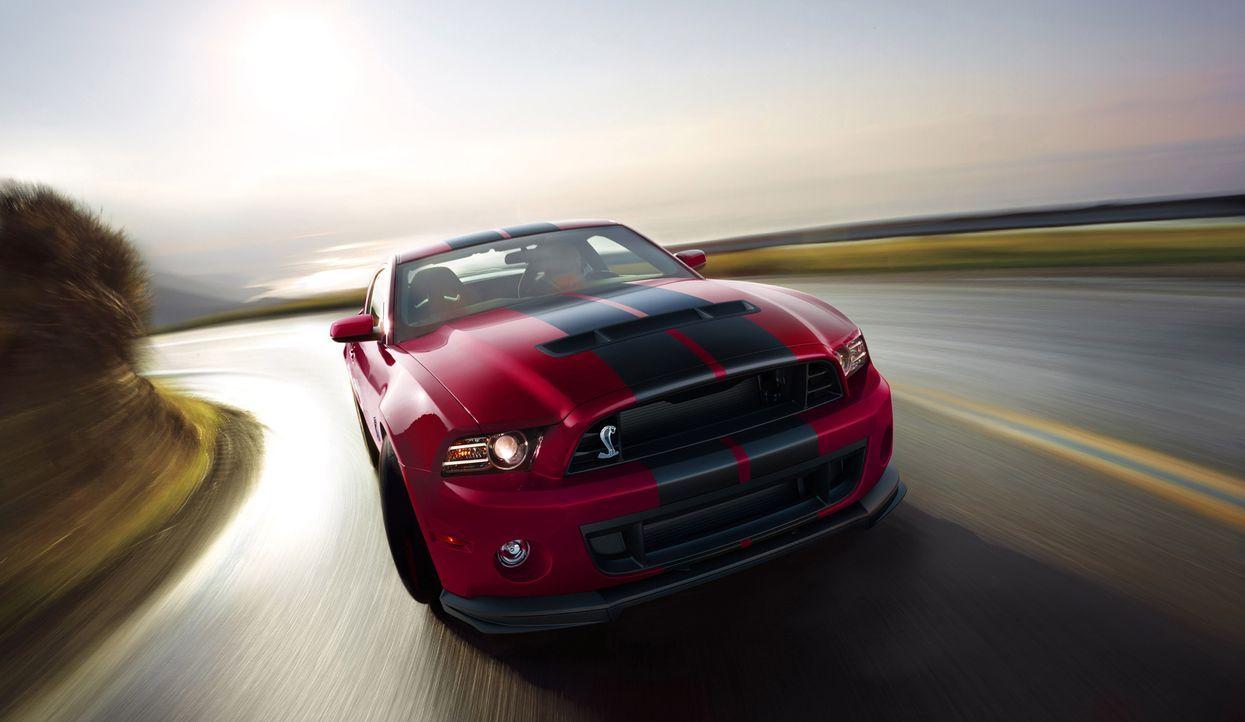 2014er Mustang Shelby GT500 (3) - Bildquelle: © 2013 Ford Motor Company