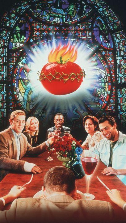 Last Supper mit Pete (Ron Eldard, l.), Jade (Cameron Diaz, 2.v.l.), Marc (Jonathan Penner, M.), Paulie (Annabeth Gish, 2.v.r.) und Luke (Courtney B.... - Bildquelle: Columbia Pictures Corporation