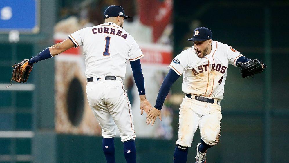 MLB: Houston und Los Angeles Dodgers im Halbfinale - Bildquelle: GETTY IMAGES NORTH AMERICAGETTY IMAGES NORTH AMERICASIDBob Levey