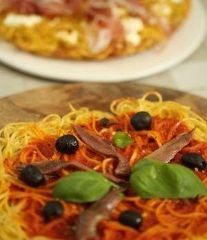 Pasta Pizza - Bianca e Rossa