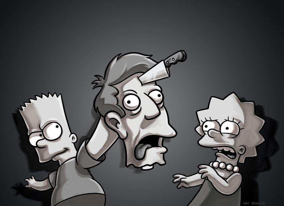 Bart (l.) und Lisa (r.) rächen sich gegenseitig an ihren Lehrern .... - Bildquelle: und TM Twentieth Century Fox Film Corporation - Alle Rechte vorbehalten