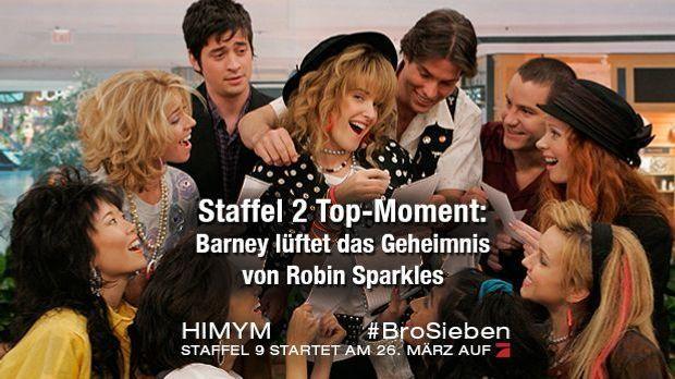 Top-Moment - Staffel 2: Barney lüftet das Geheimnis von Robin Sparkles