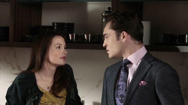 Während Blair (Leighton Meester, l.) versucht, Epperly und Nate zu verkuppeln...