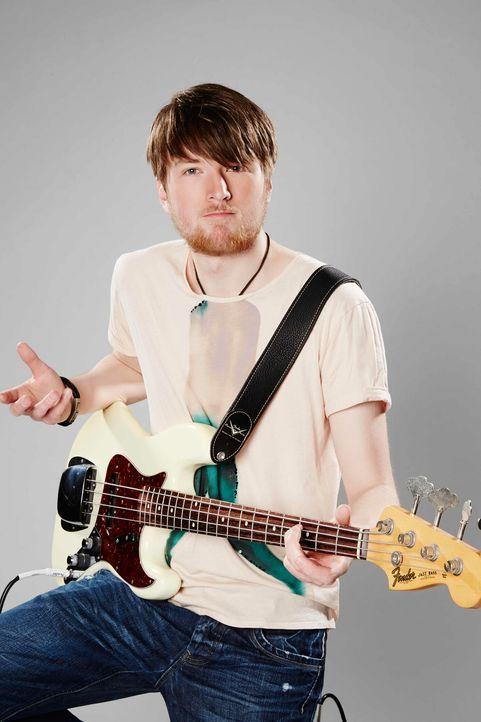 Die-Band-Bassist-Joshua-02-ProSieben-Richard-Huebner - Bildquelle: ProSieben/Richard Hübner