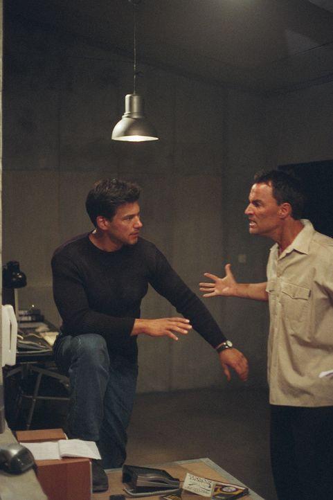 Gemeinsam sind sie durch die Hölle des Krieges gegangen: die Freunde Jim Jacobs (Dean Cochran, l.) und Nick Carlton (Todd Jensen, r.) ...