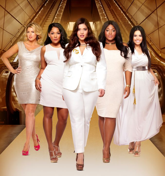 (2. Staffel) - Diese fünf Frauen sind stolz auf ihre Kurven, doch das Modelbusiness ist auch bei den Plus-Size Modeln alles andere als einfach: Ivor... - Bildquelle: MMXIII SiTv, Inc. All rights reserved.