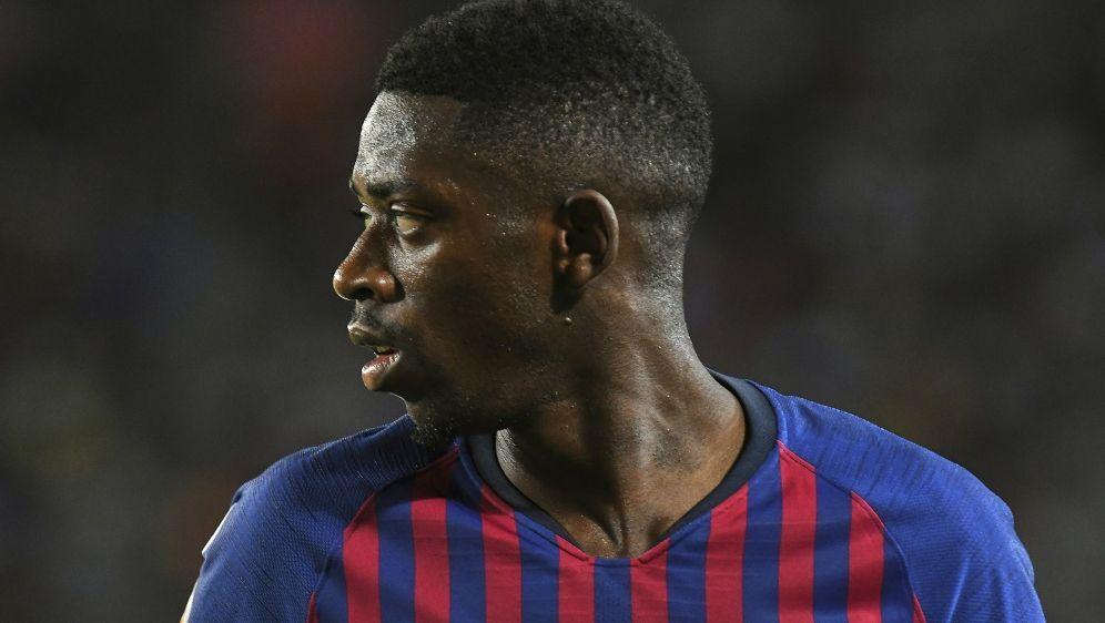 Ousmane Dembele steht gegen Sevilla nicht im Barca-Kader - Bildquelle: PIXATHLONPIXATHLONSID