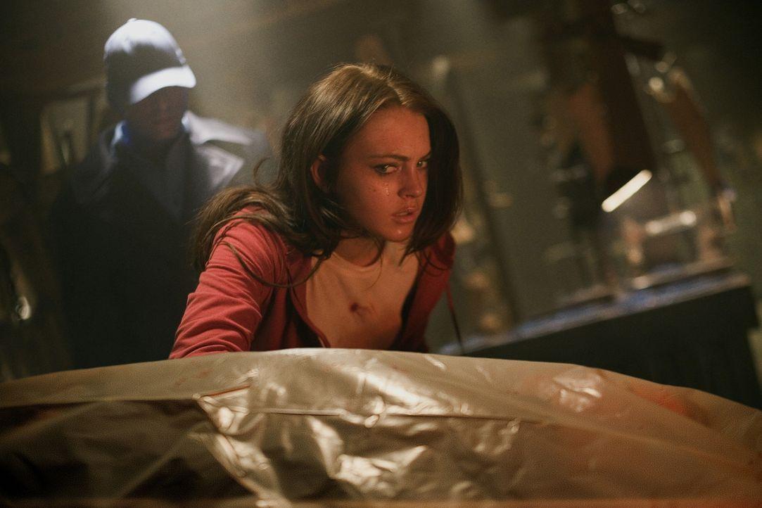 Wird von einem sadistischen Serienkiller überfallen: Aubrey Fleming (Lindsay Lohan) ... - Bildquelle: Sony 2007 CPT Holdings, Inc.  All Rights Reserved.