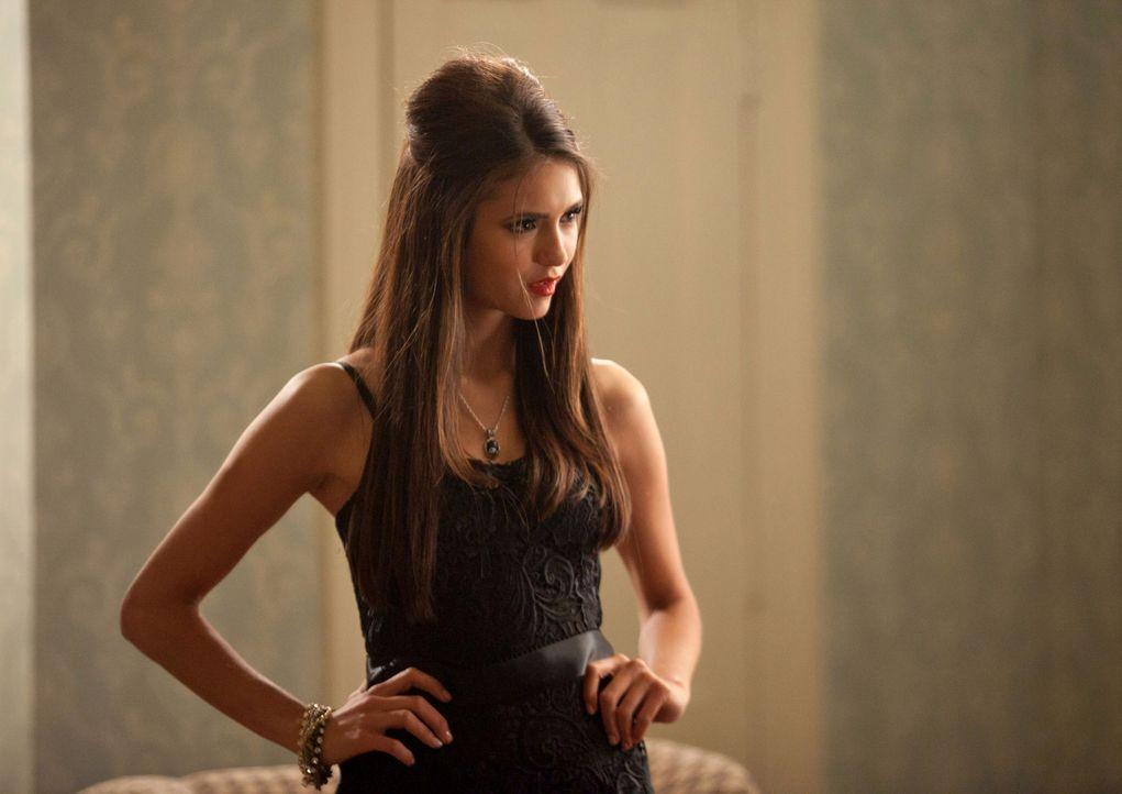 Wurde durch einen hinterlistigen Plan von Damon und Stefan in eine Falle gelockt: Katherine (Nina Dobrev)... - Bildquelle: Warner Brothers