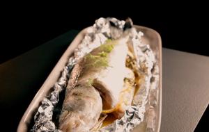 Der aromatische Duft dieses Gerichtes ist einfach phänomenal: Wolfsbarsch mit...
