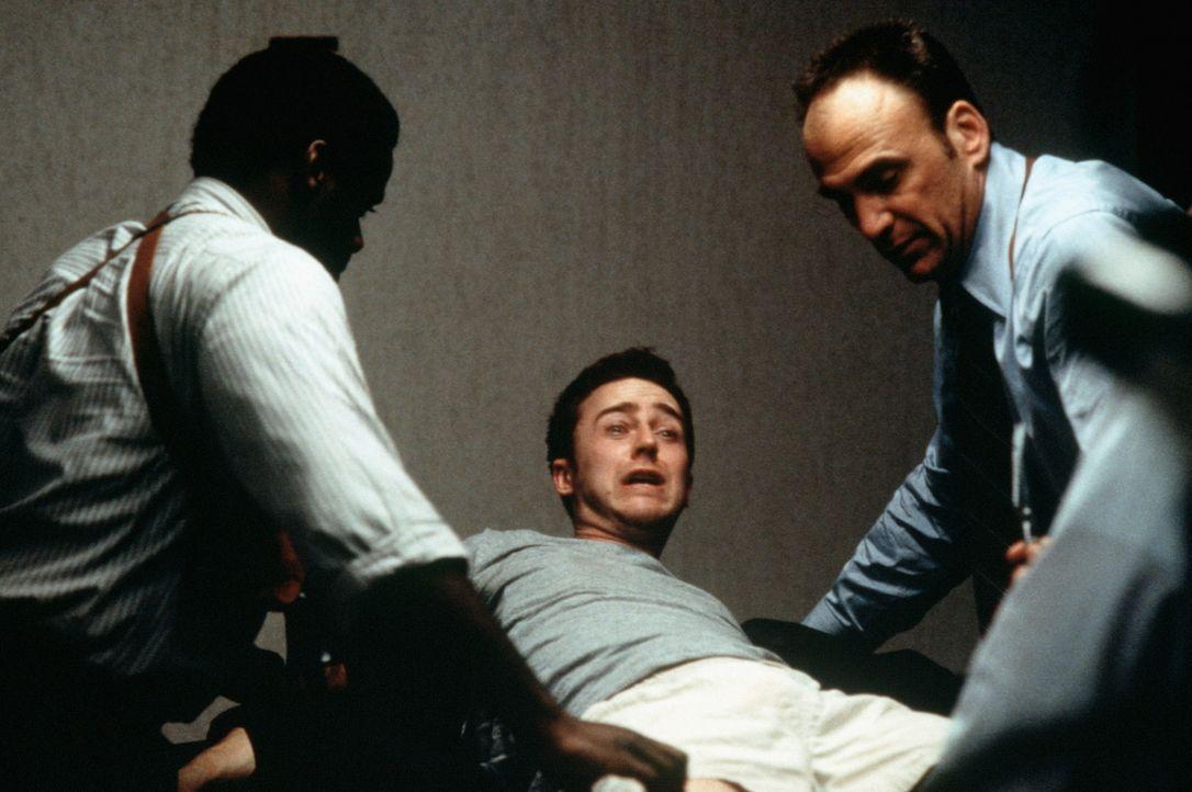 """Jacks (Edward Norton, M.)  """"Fight Club"""" hat Männer aller Schichten in seinen Bann gezogen ... - Bildquelle: 20th Century Fox"""