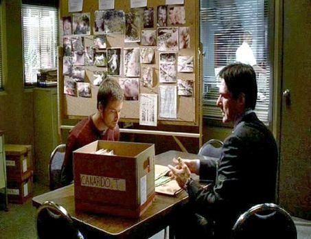 """Aaron """"Hotch"""" Hotchner (Thomas Gibson, l.), der Chef der Abteilung..."""