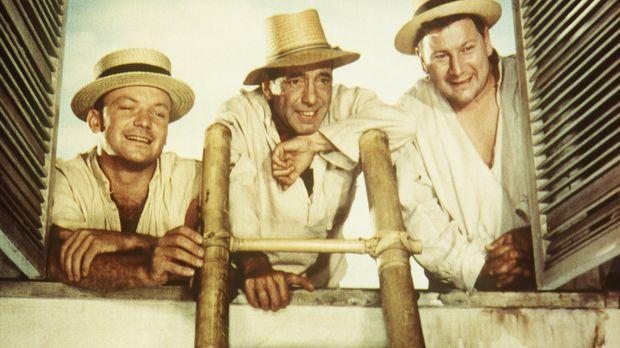 Am Weihnachtsabend gelingt den drei zu lebenslänglicher Haft verurteilten Gau...