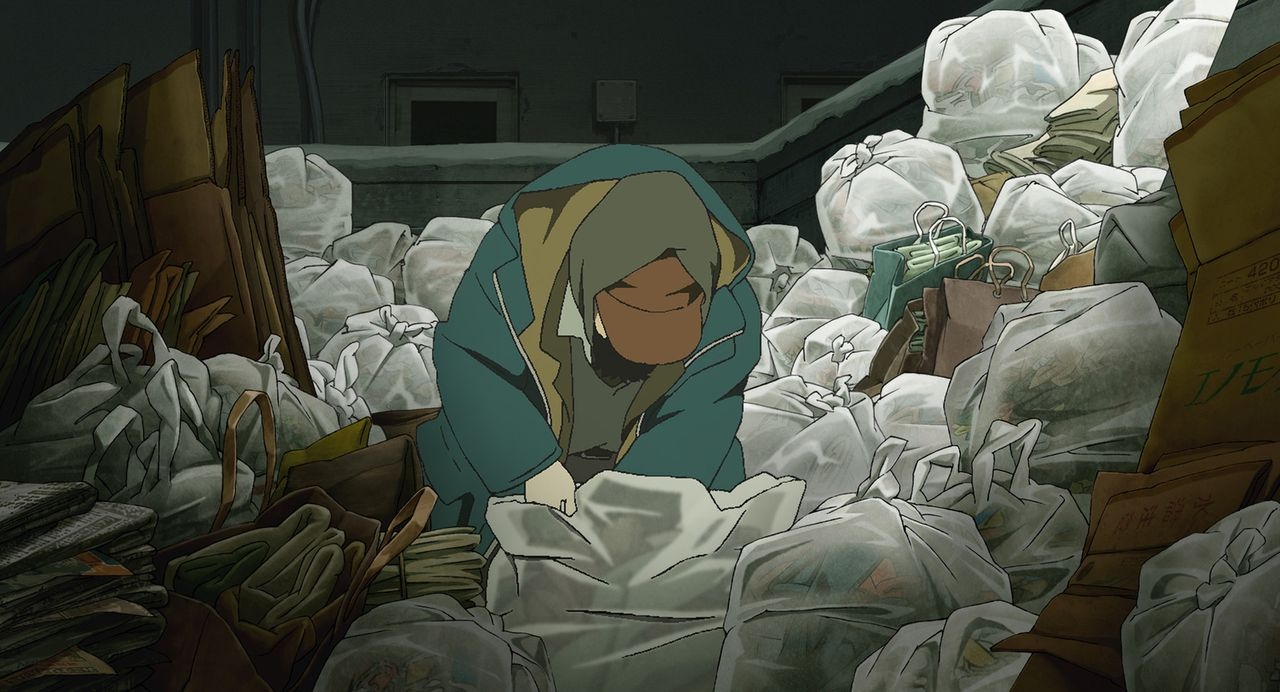Am Weihnachtsabend findet der Obdachlose Gin etwas ganz anderes, als erhofft ... - Bildquelle: 2003 Satoshi Kon, Mad House and Tokyo Godfathers Committee. All Rights Reserved.