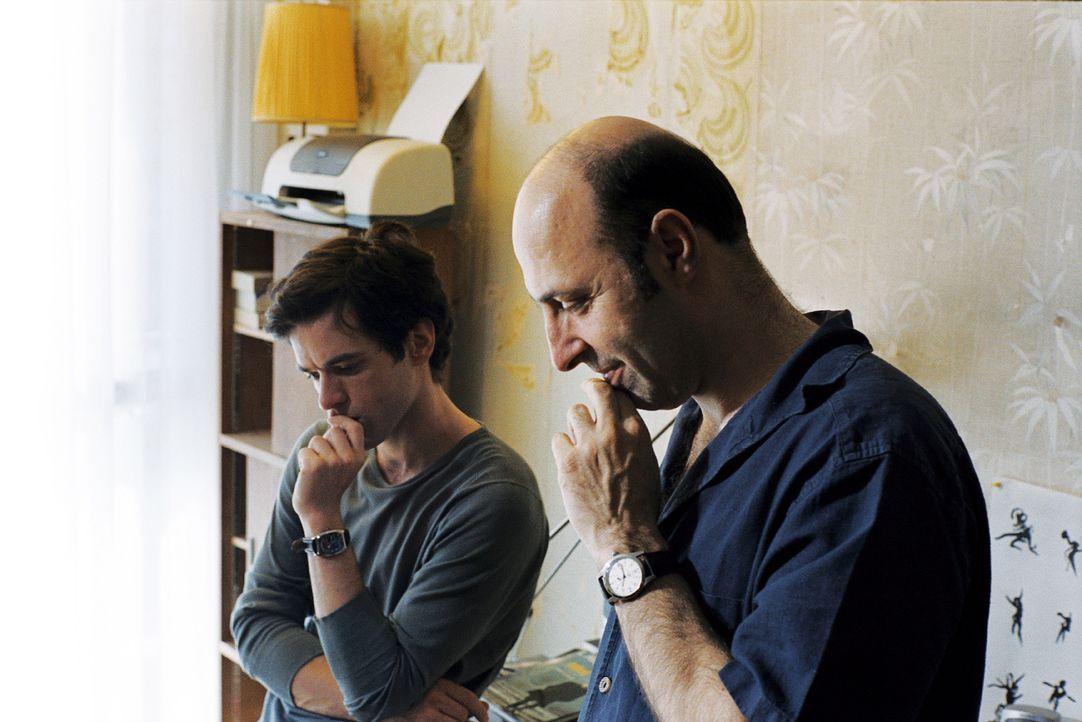 Regisseur Cédric Klapisch, r. und sein Hauptdarsteller Romain Duris, l. - Bildquelle: Tobis Film