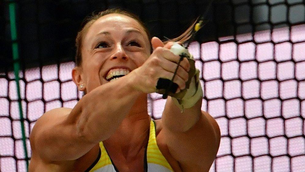Kathrin Klaas warf den Hammer auf 71,50 Meter - Bildquelle: AFPSIDANDREJ ISAKOVIC