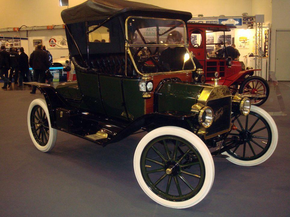 Modell T von Ford 9 - Bildquelle: dpa