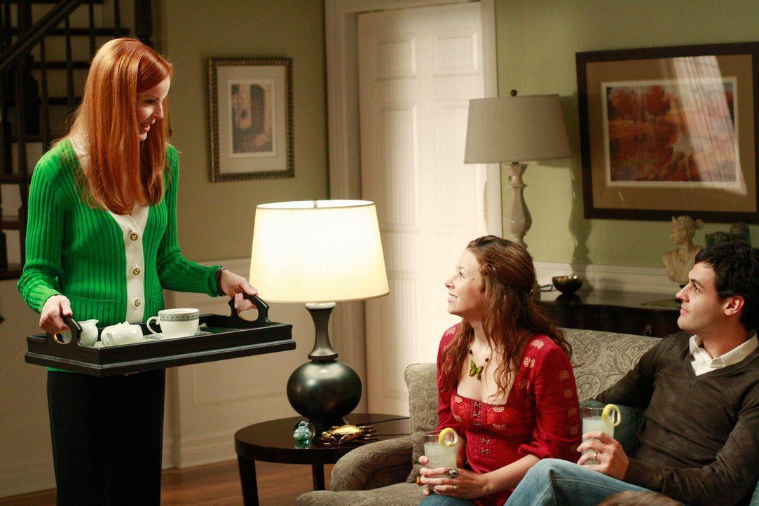 Bree (Marcia Cross, l.) und Orson erhalten Besuch von Danielle (Joy Lauren, M.), ihrem Ehemann Leo (Andrew Leeds, r.) und dem inzwischen sechsjährig... - Bildquelle: ABC Studios