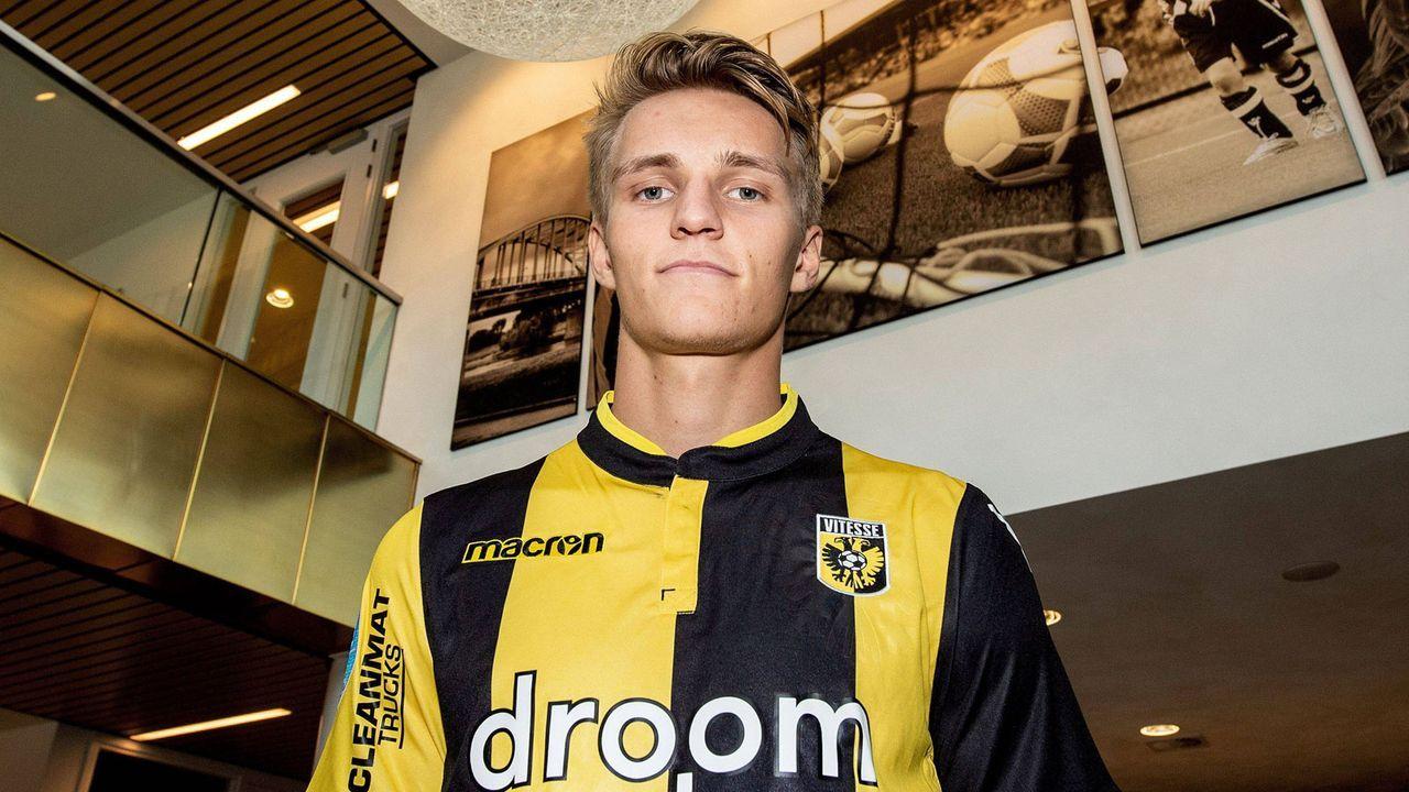 Martin Ödegaard (Zugang Vitesse Arnheim) - Bildquelle: imago