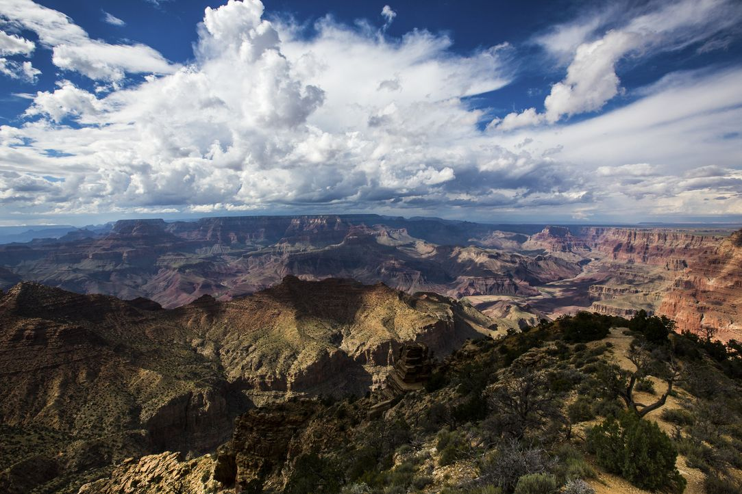 Der Fluss Colorado versorgt Städte wie Las Vegas, Denver, Albuquerque und Phoenix. Die Anzahl der Bewohner steigt stetig und nun wächst die Angst, d... - Bildquelle: Bill Weir 2015 Cable News Network. A Time Warner Company. All Rights Reserved.