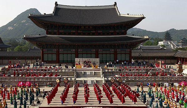 Gyeongbok Palast - Bildquelle: dpa