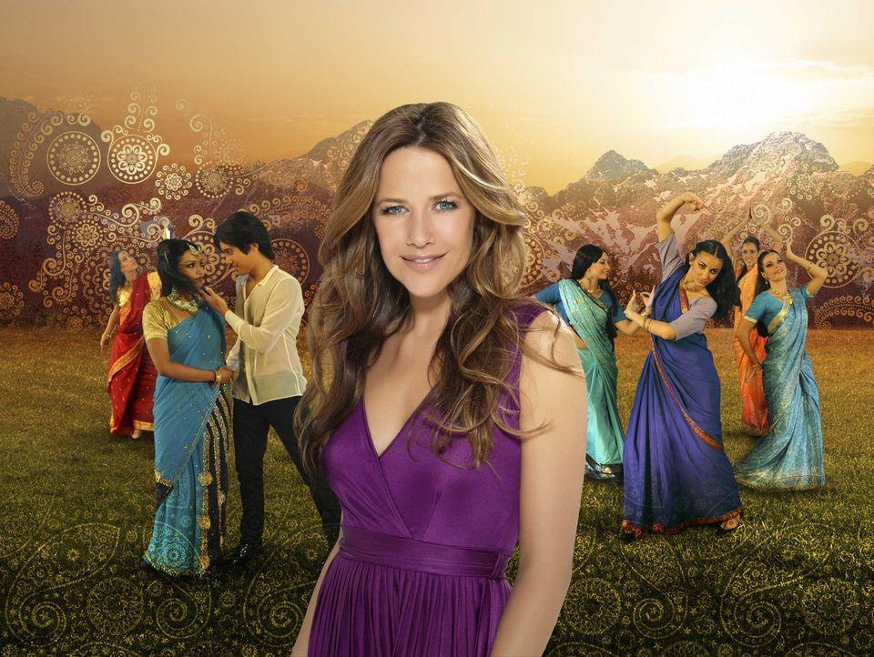 Als die attraktive Produktionsassistentin Franzi (Alexandra Neldel) für ein Bollywood-Filmteam einen Drehort in den Alpen sucht, kommt ihr ihr Heim... - Bildquelle: SAT. 1