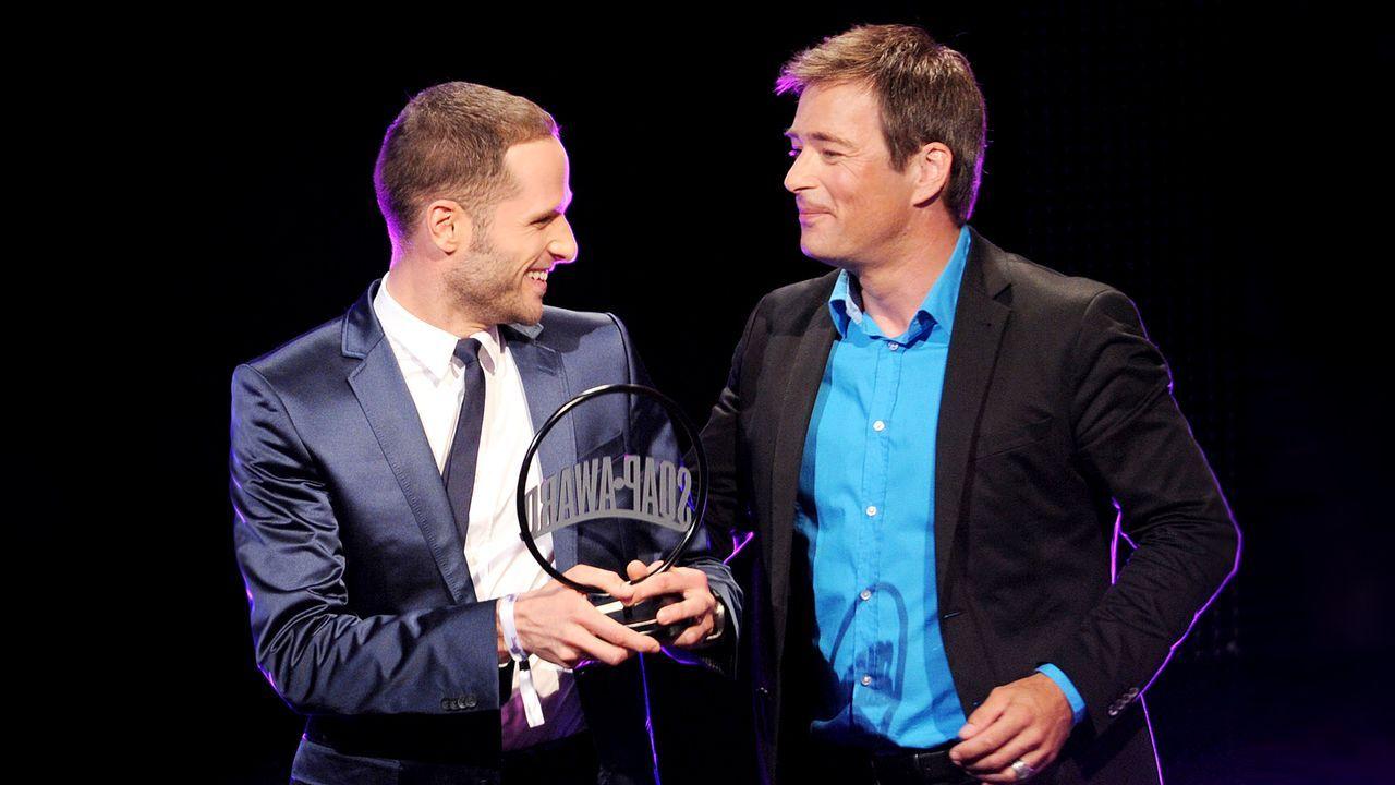 lee-rychter-jan-sosniok-11-06-04-soap-award-dpa - Bildquelle: dpa