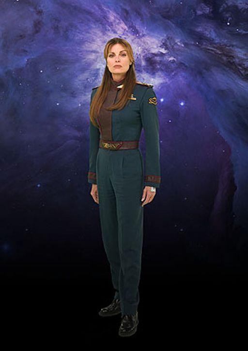 Aufregende Abenteuer stehen Colonel Elizabeth Lochley (Tracy Scoggins) und dem Team der Babylon 5 bevor ... - Bildquelle: Warner Bros.