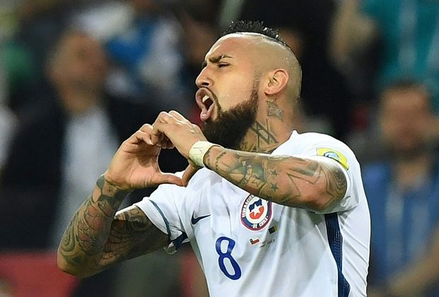 Vidal erzielte den 1:0-Treffer für Chile