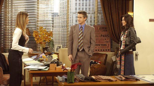 Als Monica (Courteney Cox, r.) den Verdacht hegt, dass Gavin (Dermot Mulroney...