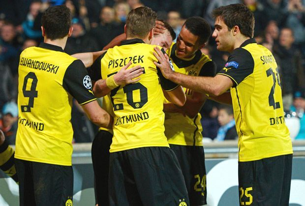 Zenit St. Petersburg vs. Borussia Dortmund