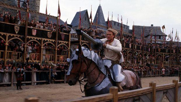 Weil seine Ritterrüstung den Geist aufgegeben hat, muss William (Heath Ledger...