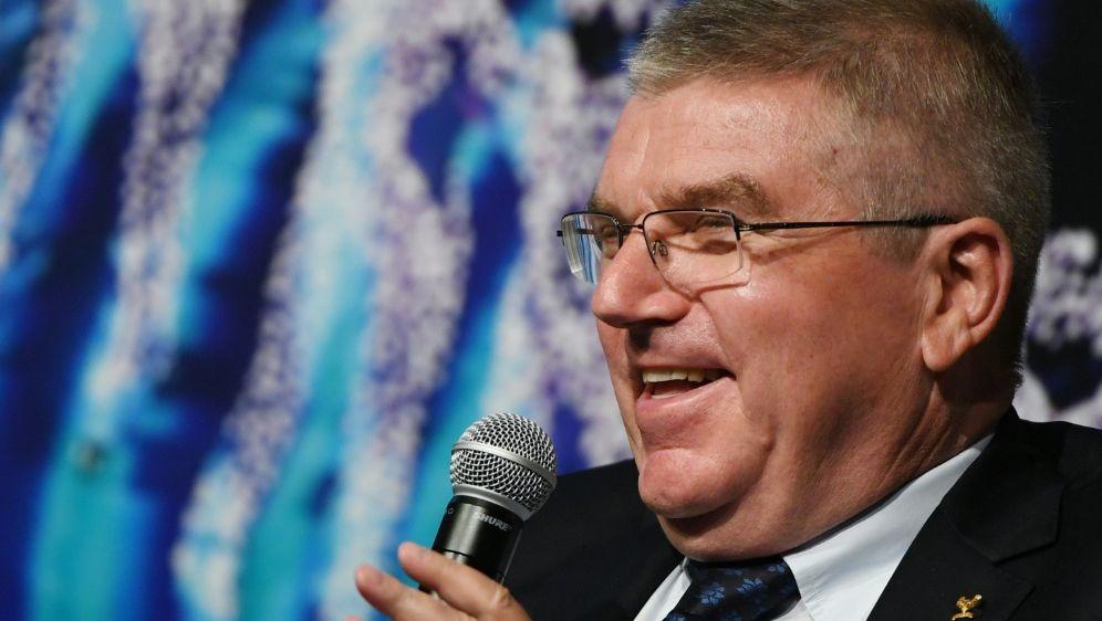 IOC-Präsident Thomas Bach wird das WM-Finale besuchen - Bildquelle: AFPSIDGREG BAKER